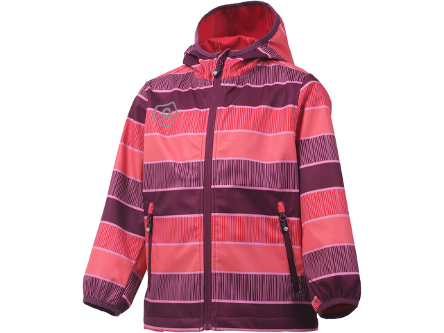 Color Kids Tadimir AOP Veste Softshell Fille, magenta purple